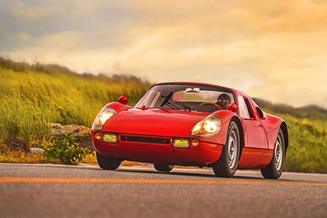 Porsche Club of America - Immortal 904: A Carrera GTS with fewer than 2,000 miles has landed at the Audrain Automobile Museum