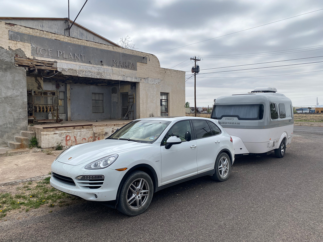 Porsche Club of America - Texas by Airstream: Towing with a Porsche Cayenne Diesel, Part II