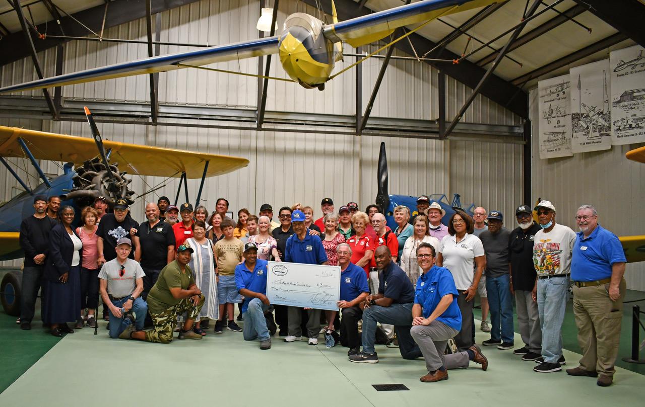 Porsche Club of America - Riverside Region supports Tuskegee Airmen