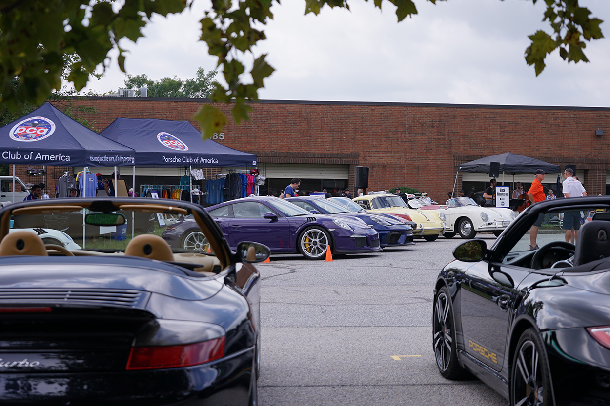 2021 PCA National Office Open House hosts Porsches, members, and friends of the club