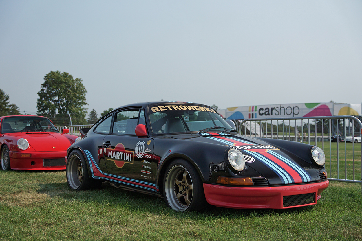 photo of Indy or bust: How a Retrowerks Garage brought its Porsche 911E to Sportscar Together Fest image