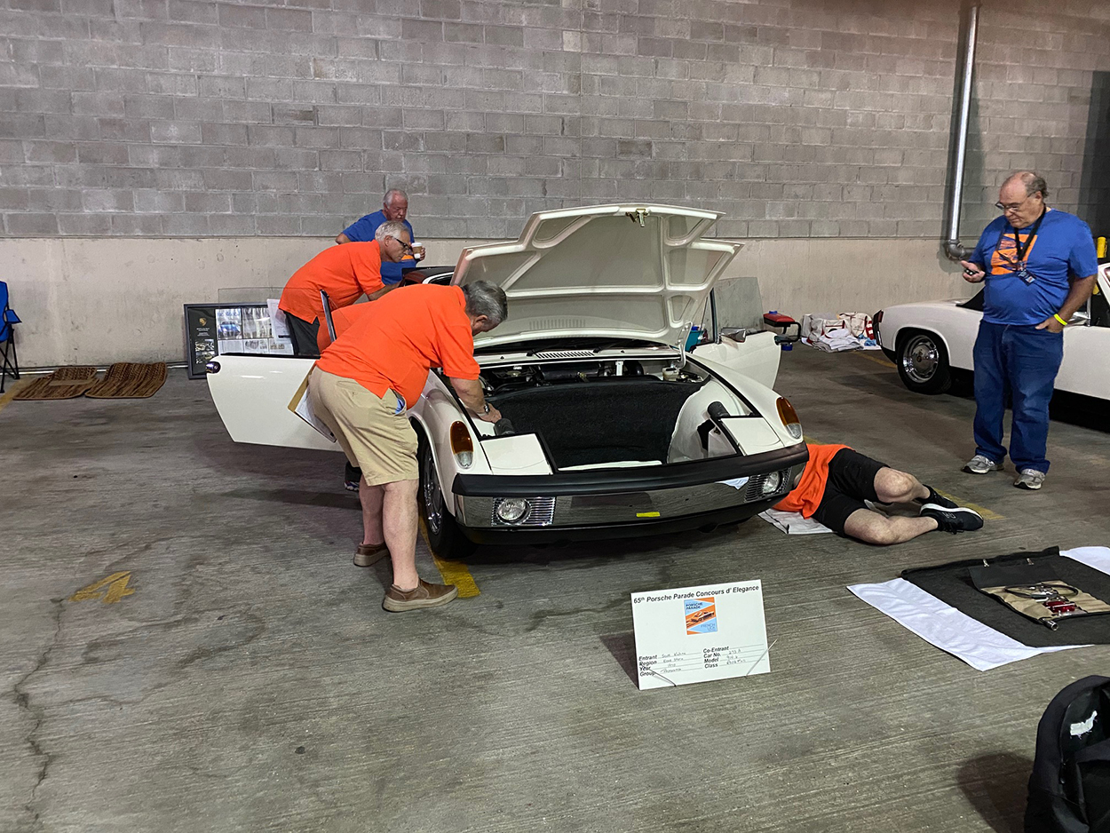Porsche Club of America - How preparing a car for concours can help extend the life of your Porsche   PCA Tech Tips