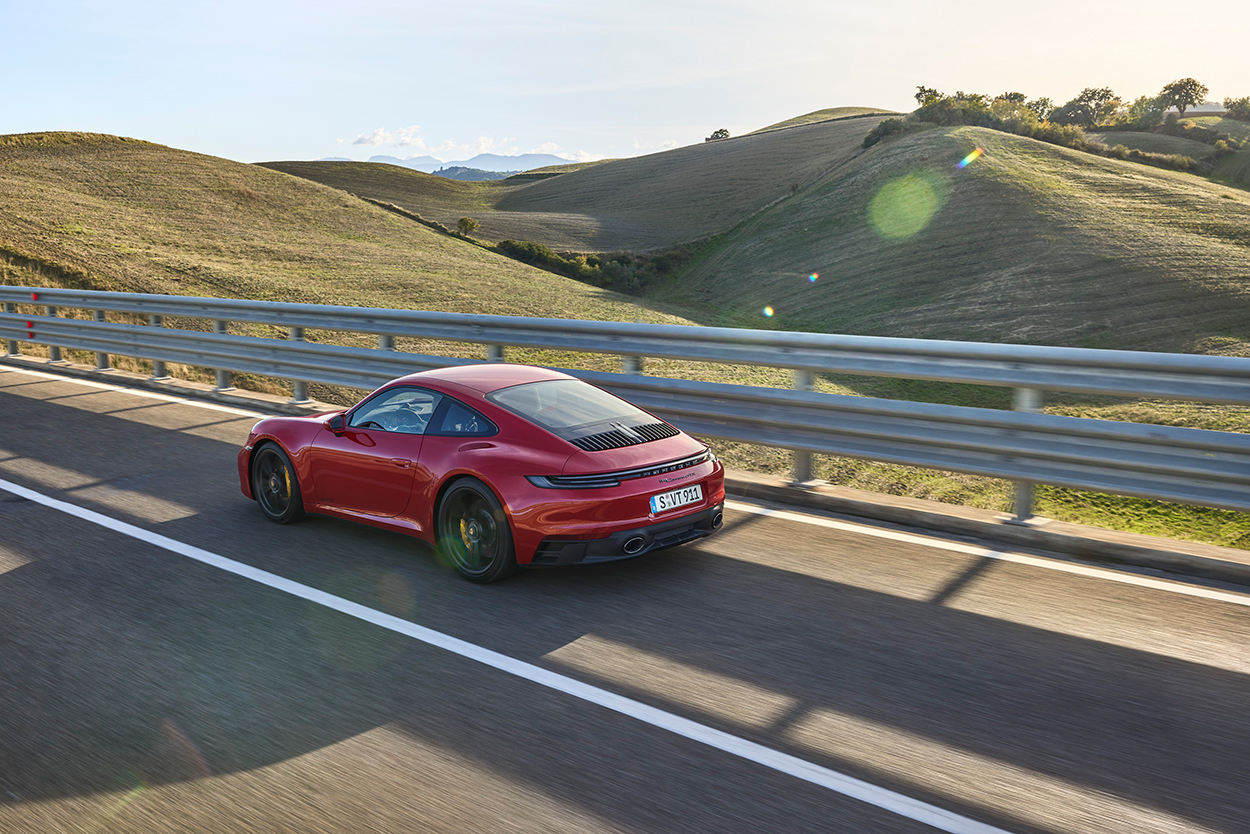 Porsche's 2022 911 GTS models slot nicely between Carrera S and GT3