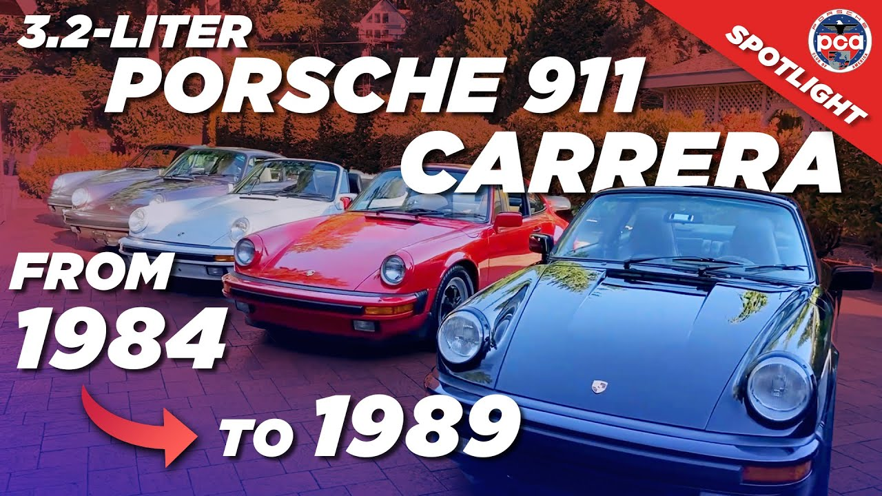 Porsche Club of America - Video: 1984-89 Porsche 911 Carrera: Everything you need to know   PCA Spotlight