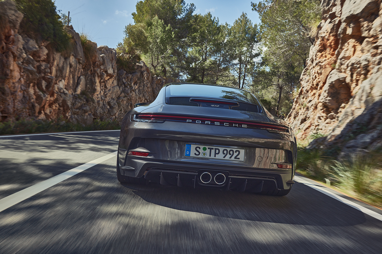Porsche Club of America - Porsche announces 911 GT3 Touring, Californians can't opt their GT3s with a manual transmission