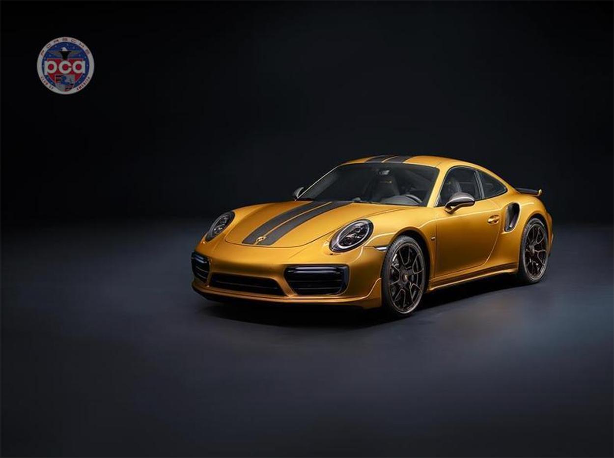 Porsche Club of America - The Midas Touch — Porsche's take on gold