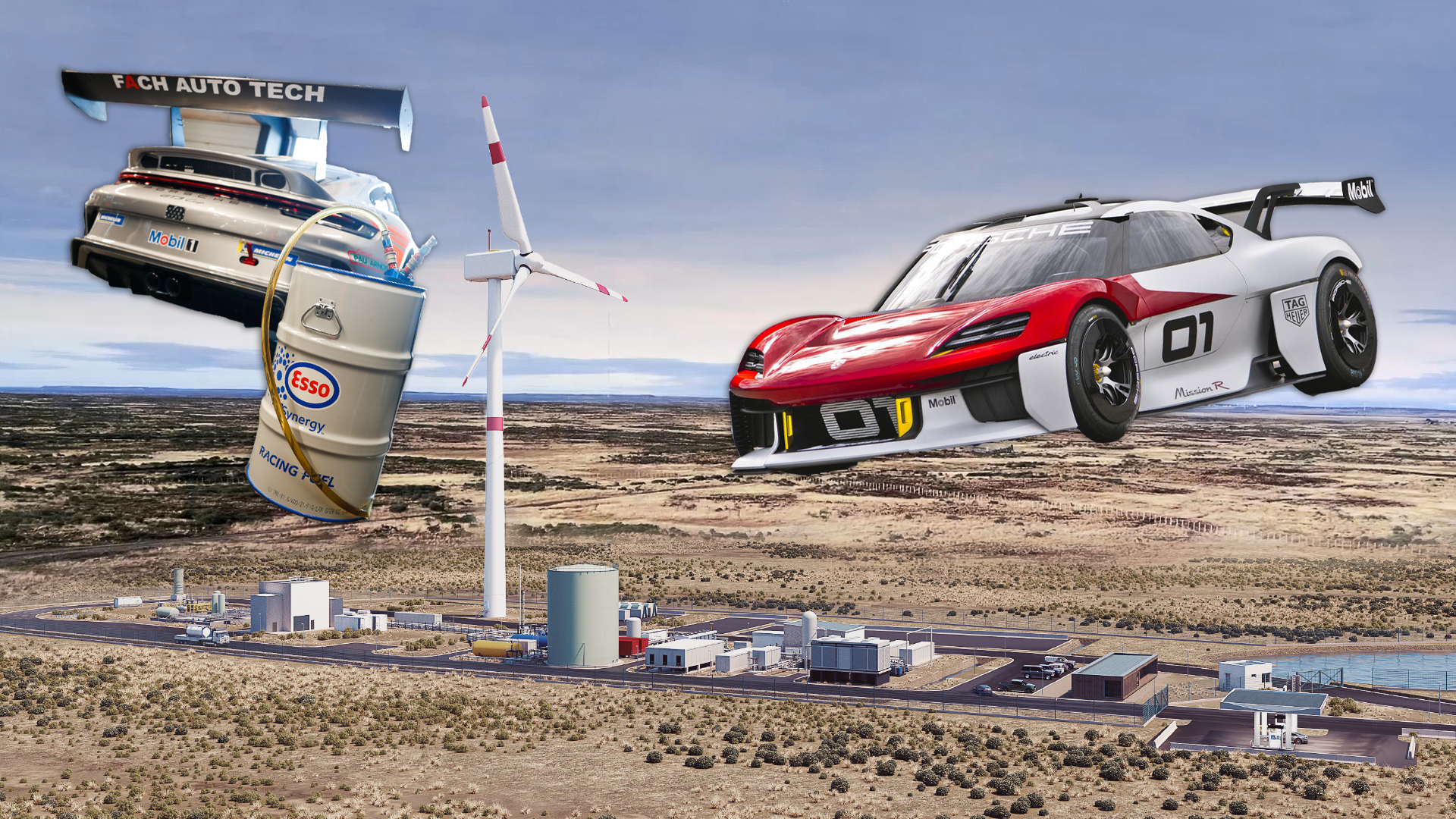 photo of Powering Porsche's race cars: Past, present, and future at odds image