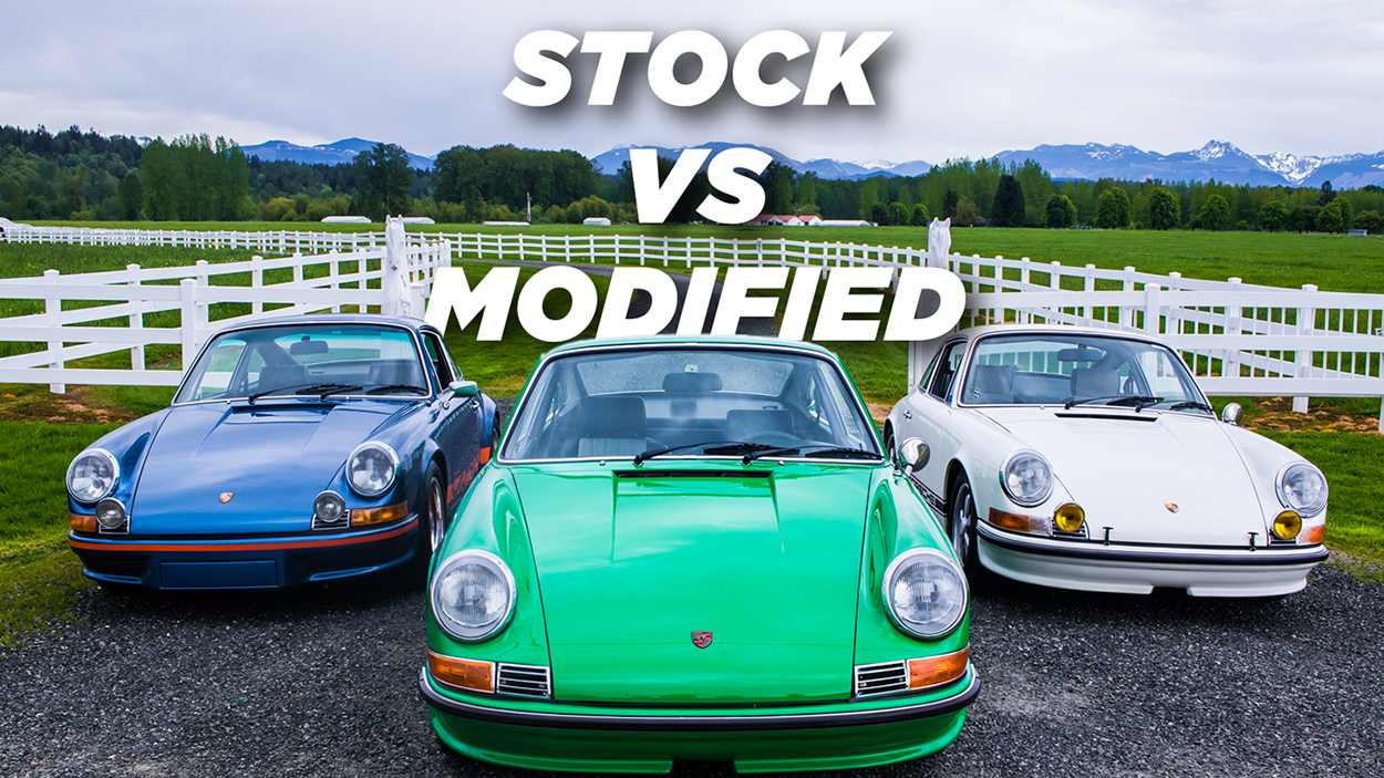 Porsche Club of America - Driving stock and modified early Porsche 911s — Which one is for you? | PCA Spotlight