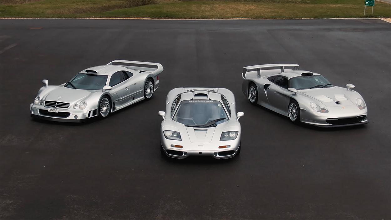 Porsche Club of America - Video: Driving the Porsche 911 GT1, Mercedes-Benz CLK GTR, and McLaren F1