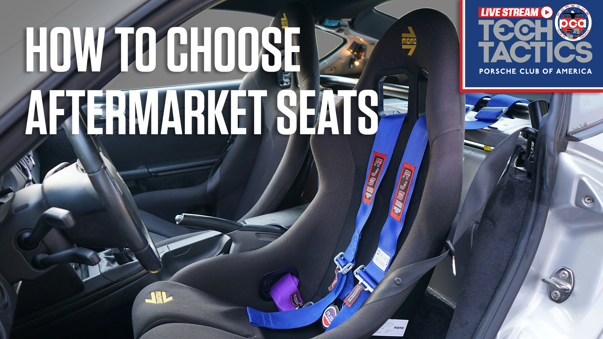 What to look for when purchasing aftermarket seats for your Porsche   Tech Tactics Live