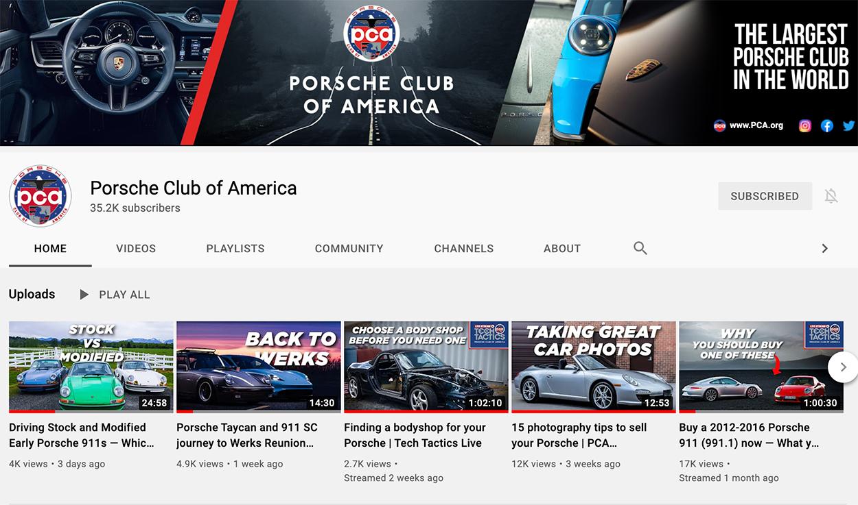 Porsche Club of America - Videos: Watch our most popular Porsche YouTube videos from 2021!